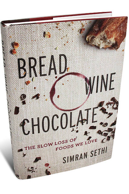 bread wine chocolate